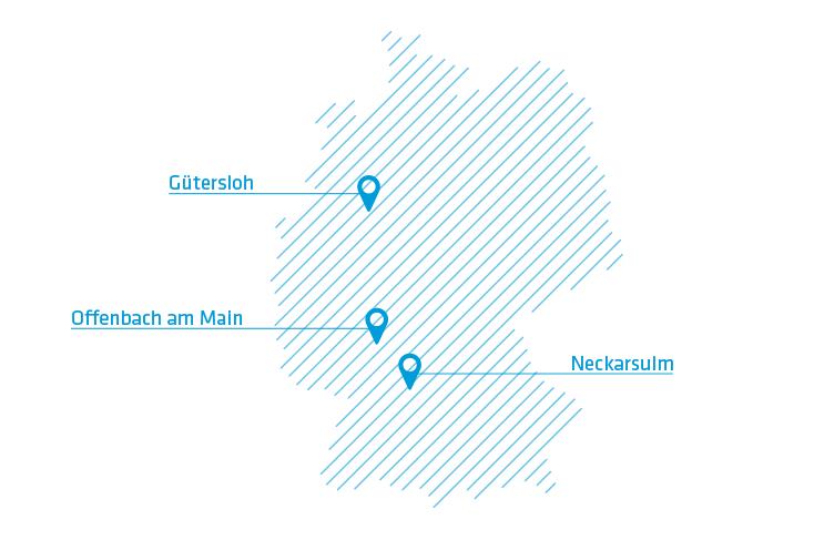 Karte mit dem Standort von campaign